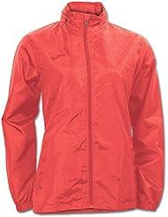 Joma Galia - Chubasquero para mujer, color naranja, talla L