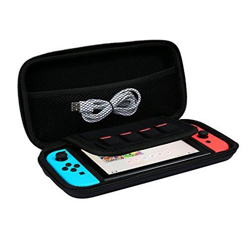 iAmer Nintendo Switch Funda,Bolsa EVA Funda para Nintendo Switch Conso