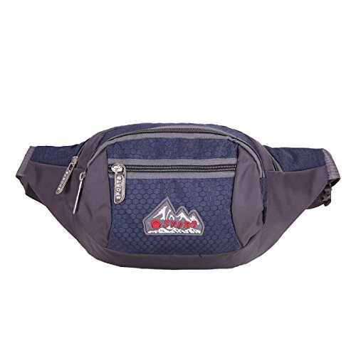 Outdoor Multifunzionale Uomini E Donne In Nylon Chiudere Il Portafoglio In Esecuzione Bag Borsa Da Viaggio Fanny Pack (più Stili),A E