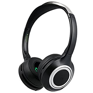 Bluetooth Headset SUPSOO B102 Hi-Fi Deep Bass Wireless Headphones Over Ear with Noise Cancelling and Hands-Free Calling and 3.5 mm Wired Audio-In for Smart Phones Bluetooth Devices