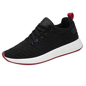 EUZeo Herren Outdoor Schuhe Sneakers Casual Mode Sommer Mesh Laufschuhe Herrenschuhe Turnschuhe Outdoor Running Leichtgewichts Atmungsaktive Sportschuhe