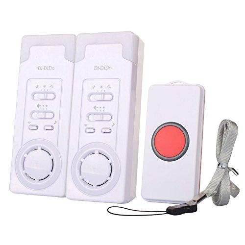 Anpi emergenza cercapersone wireless, campanello allarme con pulsante di emergenza per pazienti anziani bambini donne incinte disabili