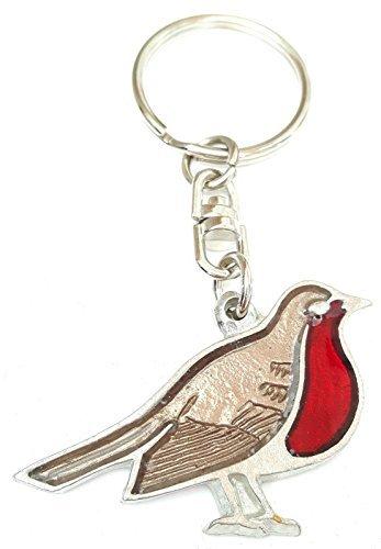 robin-red-breast-christmas-bird-enamel-key-ring-gift-bag