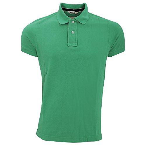 Kariban Vintage Herren Kurzarm Polo Shirt Vintage Grau