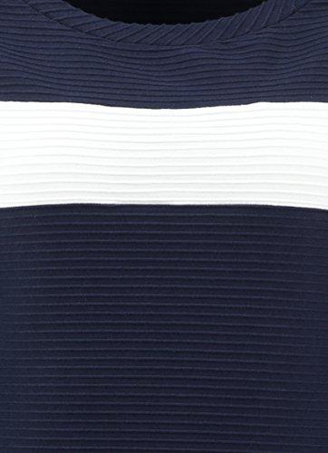 Claudia Sträter Damen Jersey-Top mit Streifen Marine