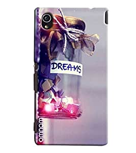Omnam Dreams Love In Jar Printed Printed Designer Back Cover Case For Sony Xperia M4