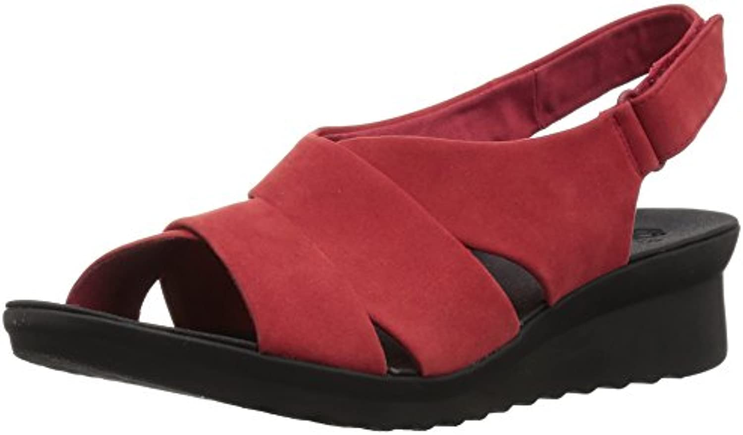 Clarks Wouomo Caddell Petal Platform, rosso rosso rosso Synthetic Nubuck, 6 M US | Dall'ultimo modello  bde59f