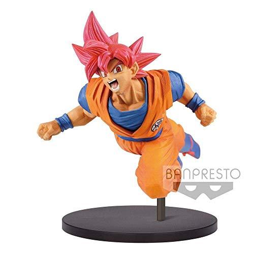 Dragon Ball Z - Son Goku Fes!! Vol9 - Son Goku Super Saiyan God, 16 cm