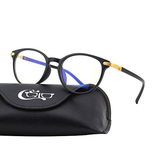 CGID CT32 Gafas Premium con Armazón TR90 para Protección contra Luz Azul