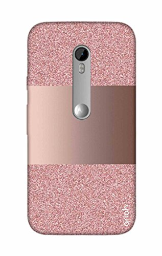 Qrioh Printed Designer Back Case Cover for Motorola Moto G3-Glitter printed