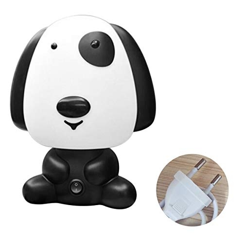 Heaviesk Kinder Kinder Schlafzimmer reichen Hund niedlichen Cartoon-Stil Nachtlicht Nachttischlampe dekorative großes Geburtstagsgeschenk -