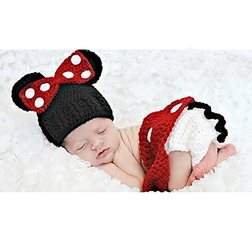 Imagen de m&a ropa disfraz fotografía para bebé 0 3 meses minnie