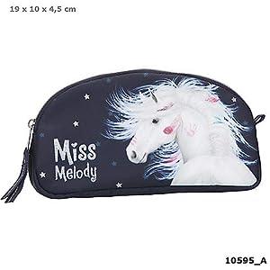 Top Model- Miss Melody Bolsa de Maquillaje Azul (0010595), (DEPESCHE 1)