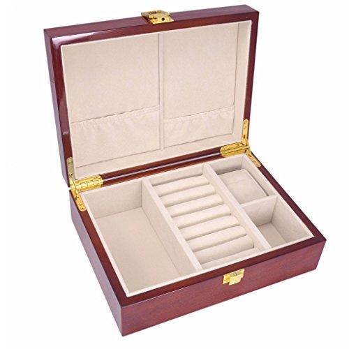 Baosity Caja Estuche para Almacenamiento de Joyería Reloj Accesorios
