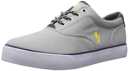 Polo Ralph Lauren Vaughn Jungen Sneakers Grau (Light Grey canvas w Yellow)