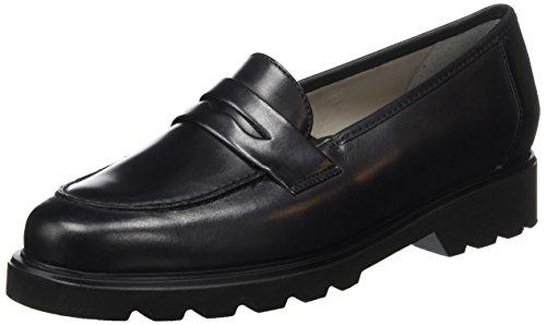 ara Harvard - Mocassini Donna, colore nero (01 nero), taglia  37 EU (4 UK)