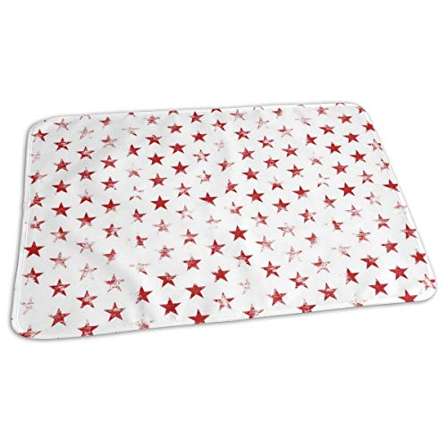 Mens Navy Blue Dog (Shiba Inu Dog Cute Dogs Navy Blue Dog Pet Dog Shiba Inu Japanese Dog Doge - Periwinkle (smaller) Baby Portable Reusable Changing Pad Mat 31.5x21.5 inches)