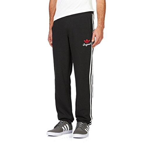 Pantaloni da uomo adidas Sport in pile nero