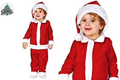 Disfraz de Papa Noel Baby para bebé de terciopelo