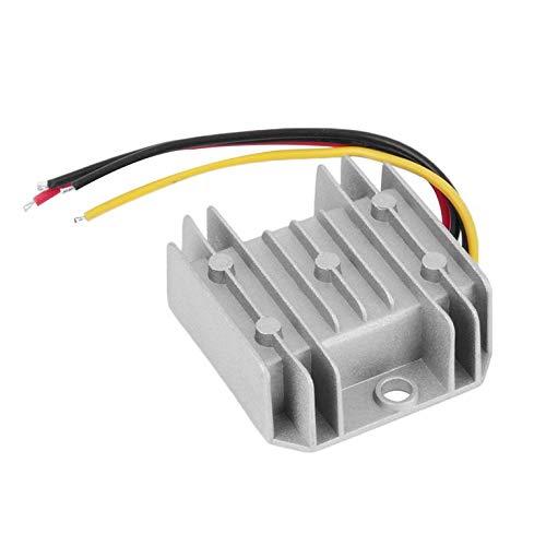 Peepheaven Wasserdichter DC/DC Spannungs-Konverter-Regulator 24V Schritt-unten zu 12V 5A Adapter