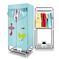 Portable Toilet Dryer - Household Large-capacity Wardrobe - Silent Power-saving Dry Hanger, 1010W