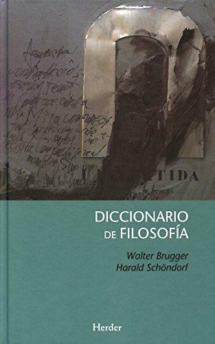 Diccionario de Filosofía (Tapa dura) por Walter Brugger