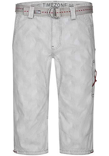 Timezone Herren Regular ConnorTZ Shorts, Grau (Grey Small Stripe 8032), W33 (Herstellergröße: 33) -