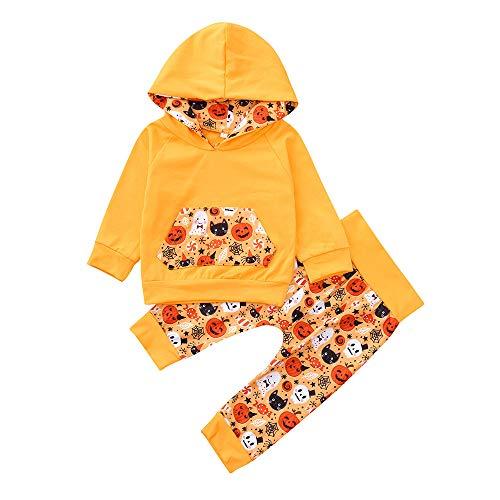 URSING Infant Baby Jungen Mädchen Cartoon Kapuzenoberteile Sweatshirt -