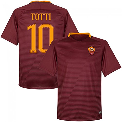 2016-2017-as-roma-10-radsport-trikot-home-francesco-totti-fussball-soccer-jersey-kit-in-rot-medium-r