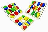 CraftDev Wooden Geometry Block Puzzle Mo...