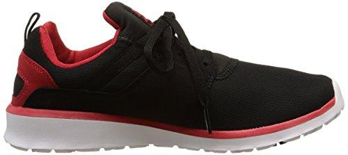 DC Shoes Heathrow M, Baskets Basses homme Noir (Black/Red)