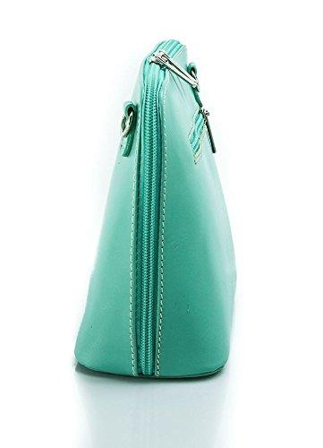 Benagio , Damen Umhängetasche Schwarz Schwarz S Mint Green Green