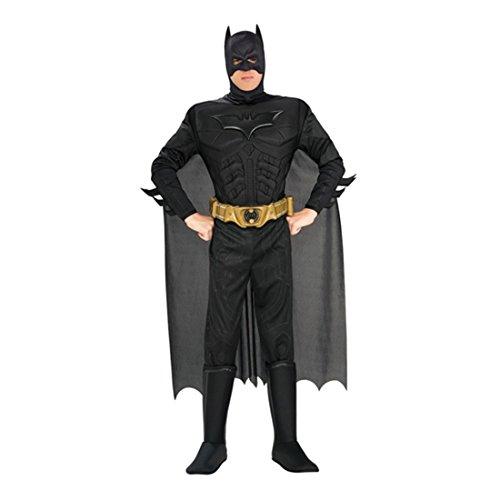 üm XL 56/58 Batmankostüm Superhelden Kostüm Fledermaus Outfit Verkleidung Herren Männer (Original Batman Kostüm)