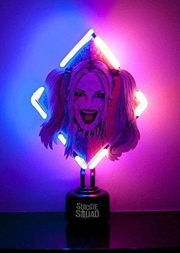 Harley Quinn neon light