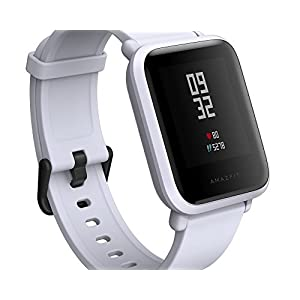 Amazfit Xiaomi huami Bip Fitness Tracker, Runn ingw atch, IP68, GPS + GLONASS, frecuencia cardíaca, weiß