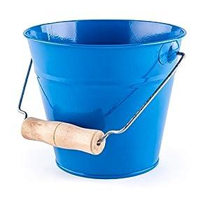 Woodyland 102191467 - Cubo de jardín, Color Azul
