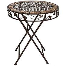 Suchergebnis Auf Amazon De Fur Gartentisch Rund Metall Antik