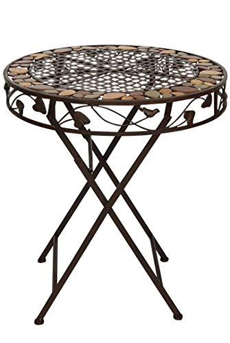 Tavolo da giardino ferro ferro battuto tavolo tavolo bistrot mobili da giardino stile antico marrone