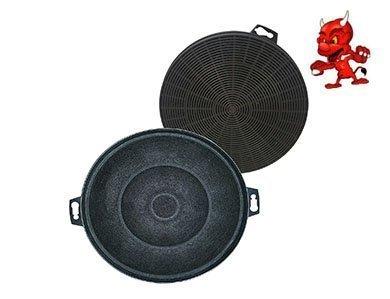 Preisvergleich Produktbild Sparset 2 Aktivkohlefilter Filter Kohlefilter für Dunstabzugshaube Abzugshaube Neff CLASSIC BLACK , Z5115X0 , Z5115X001
