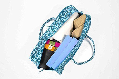 Blu fantasia oceano Deluxe yoga kit bag