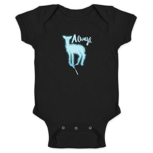 Pop Threads Always. Doe Patronus Movie Infant Bodysuit by