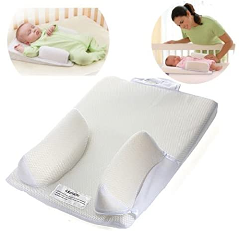 Generic NV_1001005824-EFUK28_2334 <1&5824*1> ow Anti Roll leep Fixe Support Sleep Baby Infant Head Fixed Mat Back Waist Positioner Pillow Anti Roll Baby Infant H