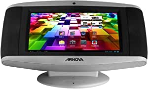Arnova SoundPad 17,8 cm (7 Zoll) Internetradio (ARM Cortex Prozessor, 1.2 GHz, 512MB RAM, 8GB Flash, Android 4.0) silber