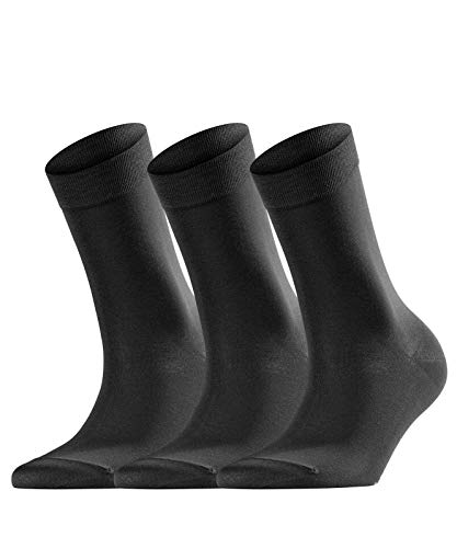 falke cotton touch FALKE Damen Socken Cotton Touch 3-Pack, 3er, Black, 39-42