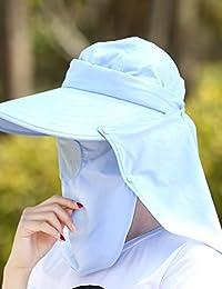 Beach Sun Hat Tide Female Summer Sun Hat Sunscreen Anti-UV Mask Sun Hat Travel Outside The Wild Riding A Sun Hat Soft and comfort