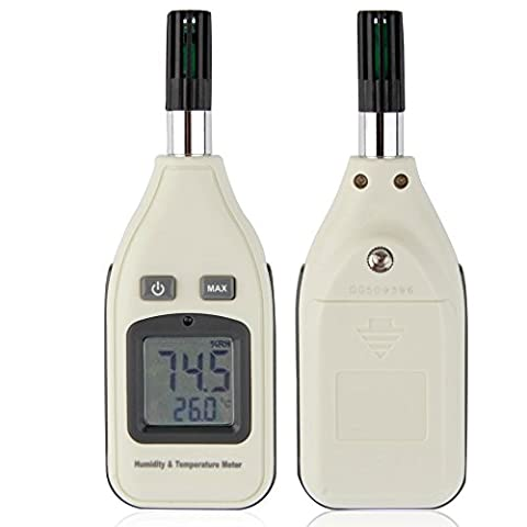 Humidity Temperature Meter, YH-THINKING Handheld Digital Hygrometer Temperature and Humidity Meter Hygrothermograph