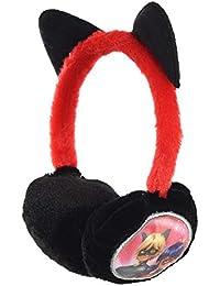 Kidso Miraculous Ladybug - Orejeras para niños, diseño de gato negro