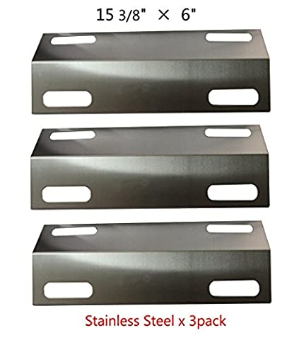 Bar.b.q.s BBQ 99351(3-pack) Stainless Steel Heat Plate, Heat Shield, Heat