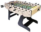 Dema Tischfußball Folding Soccer, beige/schwarz