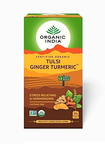 Organic-India-Tulsi-Ginger-Turmeric-Tea-25-Infusion-Bags-Pack-of-2